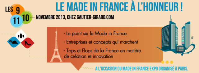 Made in France sur Gautier-Girard.com